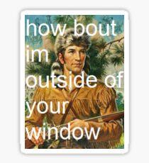 taking back davy - window Sticker