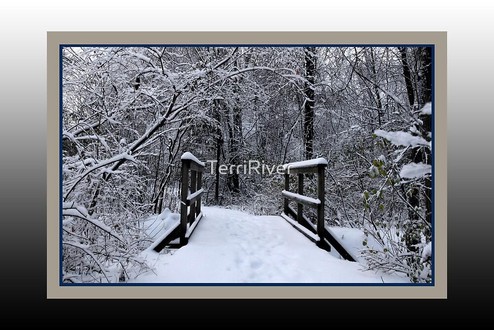 Ice Bridge (card) by TerriRiver