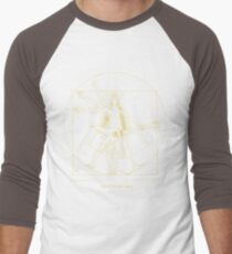 Ziltoidan Man Yellow Men's Baseball ¾ T-Shirt