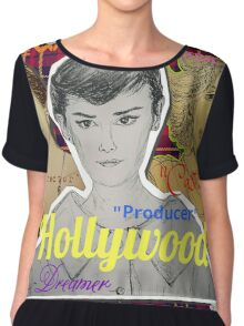 (Celebrity - Hollywood) - yks by ofs珊 Chiffon Top