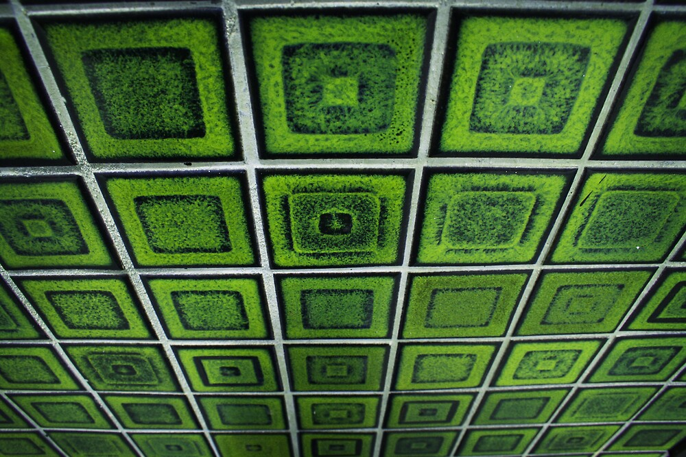 Green Tiles by Lucy Wardle