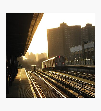 Bronx Subway, New York City  Photographic Print
