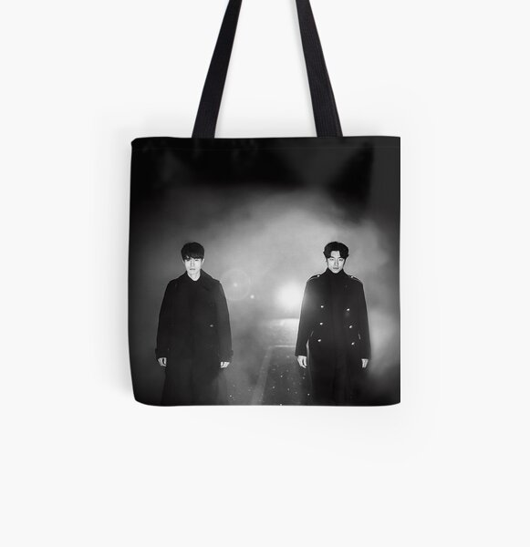 Goblin and Grim Reaper All Over Print Tote Bag