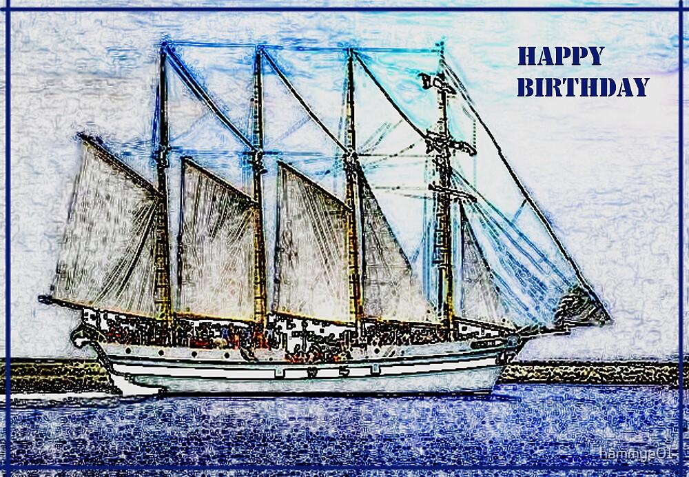 Happy Birthday card by hammye01
