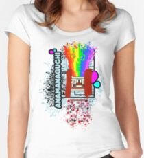 anamanaguchi Women's Fitted Scoop T-Shirt