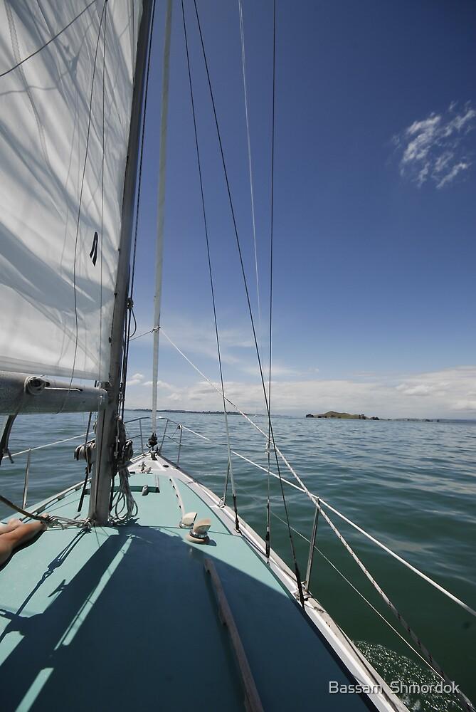 Sailing by Bassam  Shmordok