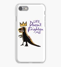 Jean Michel Basquiat Dinosaur Tee iPhone Case/Skin