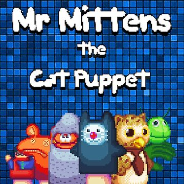 Mr Mittens Pixel Logo by SpencerEX