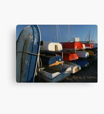 Boat ends Canvas Print