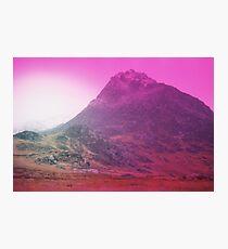 Snowdonia in Winter (Expired Film) Photographic Print