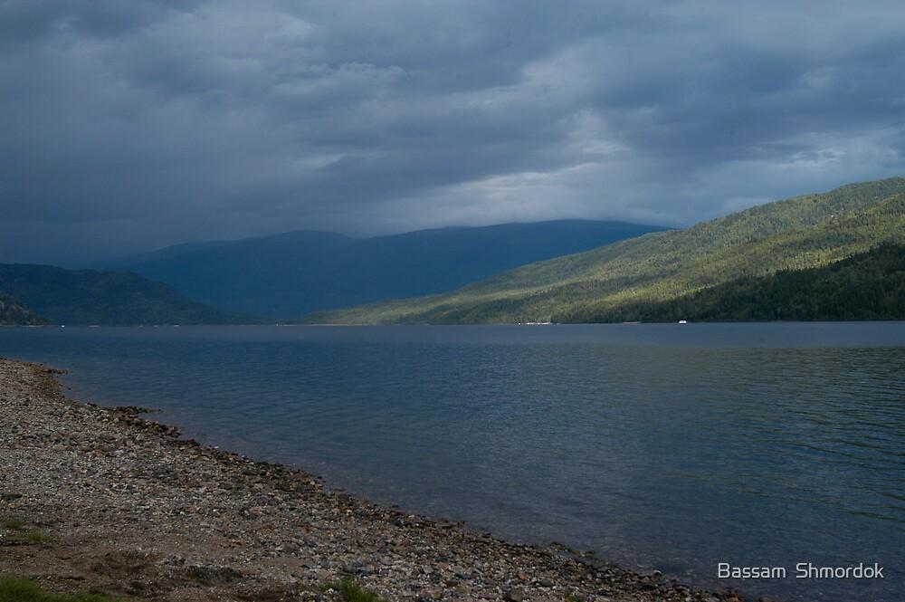 Shushwap Lake BC by Bassam  Shmordok