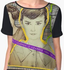 (Icon - Audrey Hepburn) - yks by ofs珊 Chiffon Top