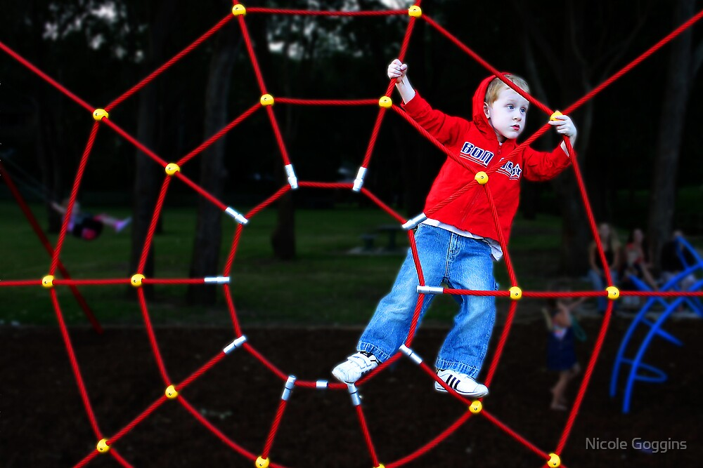 Spiderman! by Nicole Goggins