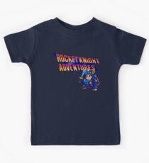 Rocket knight Adventures (Snes) Title Screen Kids Tee