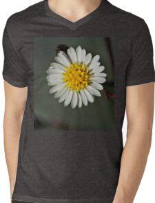 DSCN2259 NS Mini White And Vanity IA© Mens V-Neck T-Shirt