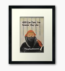 They Can Paint You However They Like Framed Print