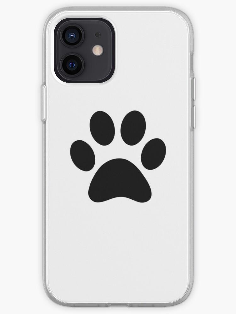 Paw Print iPhone Case