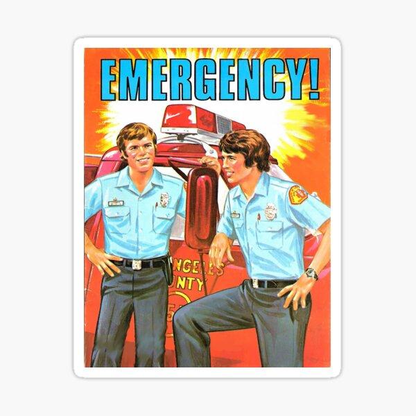 Emergency Sticker Sticker