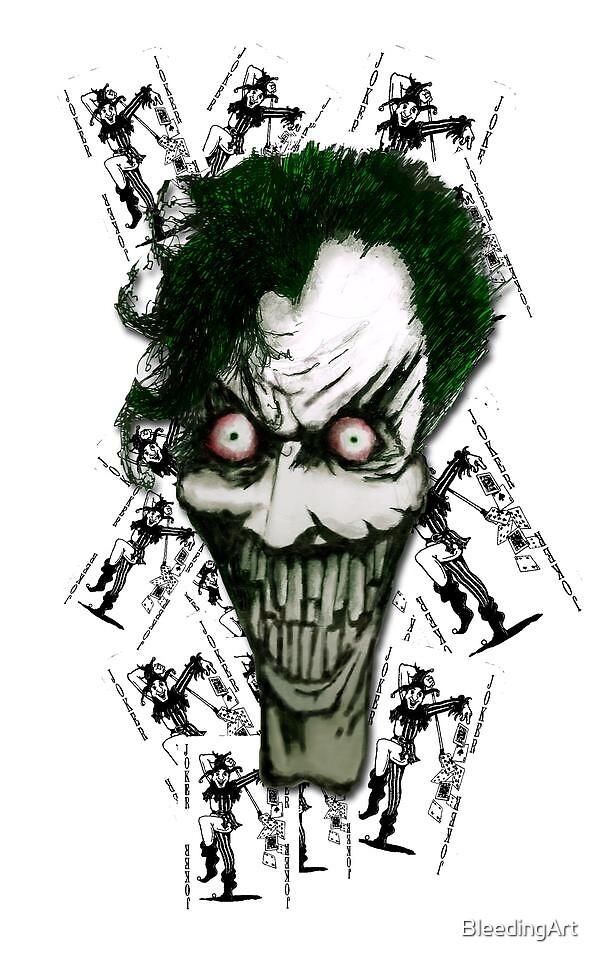Joker by BleedingArt