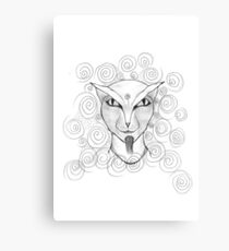 Your so Clever Canvas Print