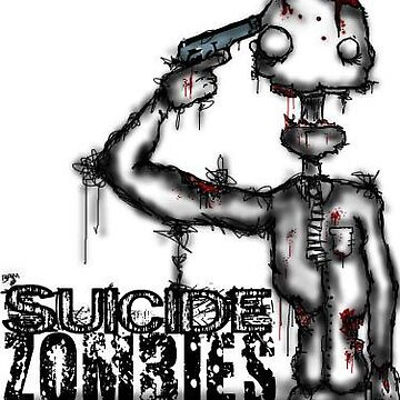 Suicide Zombie by BleedingArt