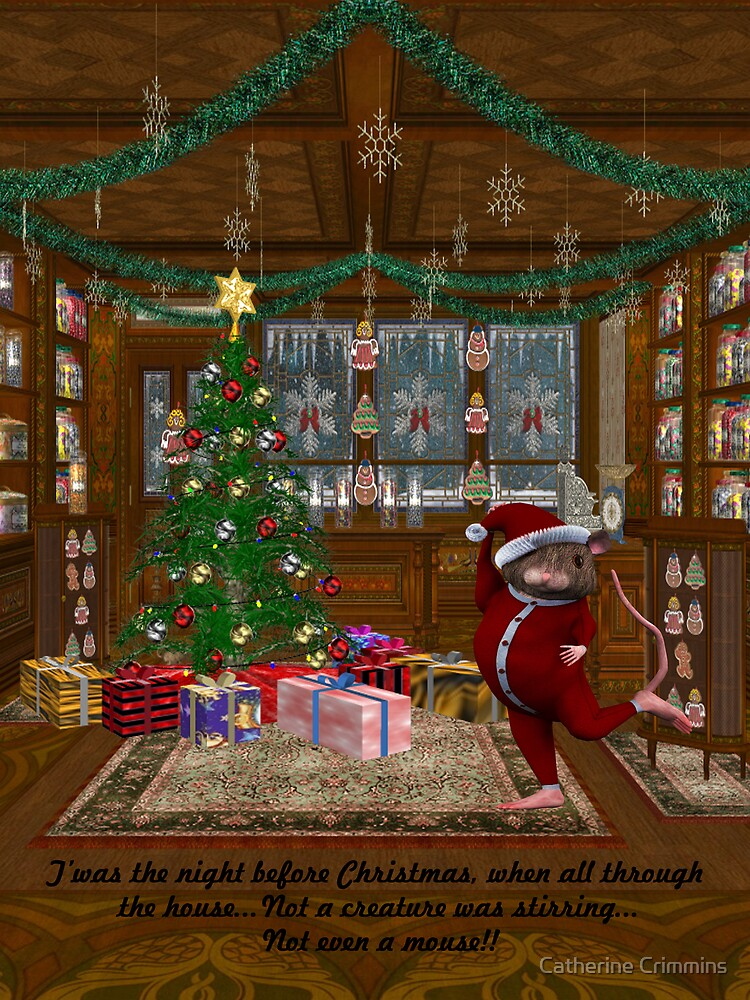 Twas the Night Before Christmas by Catherine Crimmins