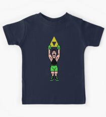 Little Mac Gets The Tri Force Kids Clothes