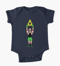 Little Mac Gets The Tri Force One Piece - Short Sleeve