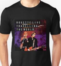Roxette Live Travelling the World Unisex T-Shirt