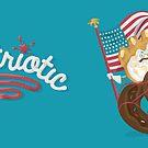 """Pastriotics - Teddy """"Bear Claw"""" Mug by Pastriotic"""