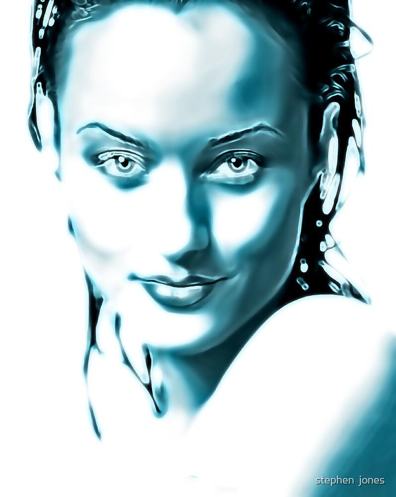 blue eyes by stephen  jones