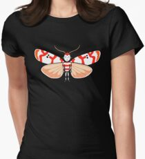 Mothboy01 Women's Fitted T-Shirt
