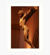 Crucified Art Print