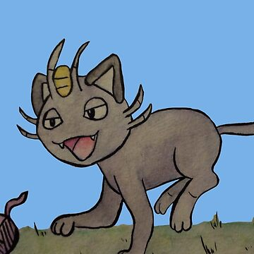 Meowth by Alan2903
