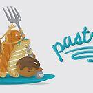 Pastriotic - Raising the Fork coffee mug by Pastriotic