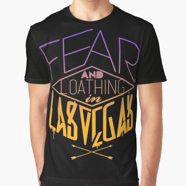 Fear, and Loaghing in Las Vegas Band Logo Graphic T-Shirt