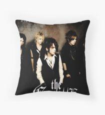 The Gazette Rock Band Throw Pillow