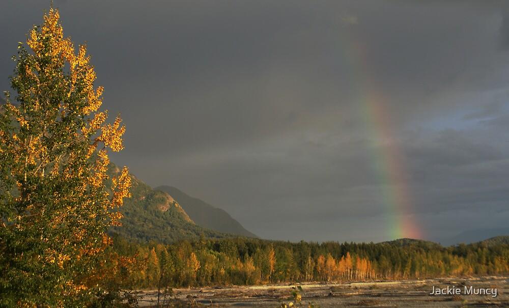 September Rainbow by Jackie Muncy