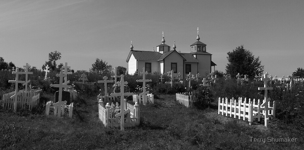 Russian Orthodox Church by Terry Shumaker