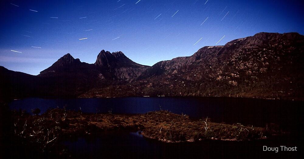 Cradle Mountain Moonlight by Doug Thost