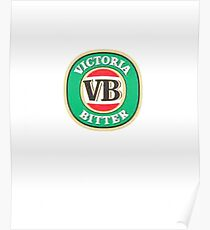 victoria bitter Poster