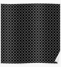 Metal wire mesh Poster