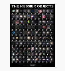 The Messier Objects Photographic Print