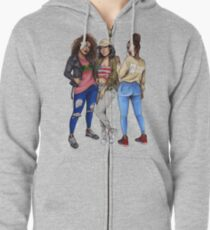 AABA Girls Zipped Hoodie