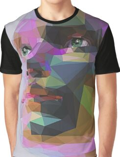 Polygon Face II Graphic T-Shirt