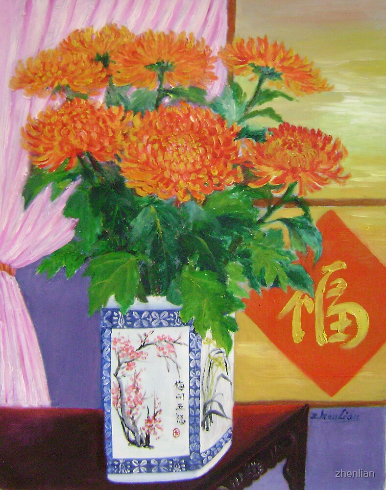 festival flowers by zhenlian