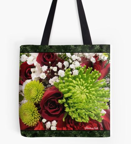 With Love at Christmas Time Tote Bag