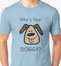 Who's Your DOGGY? Slim Fit T-Shirt
