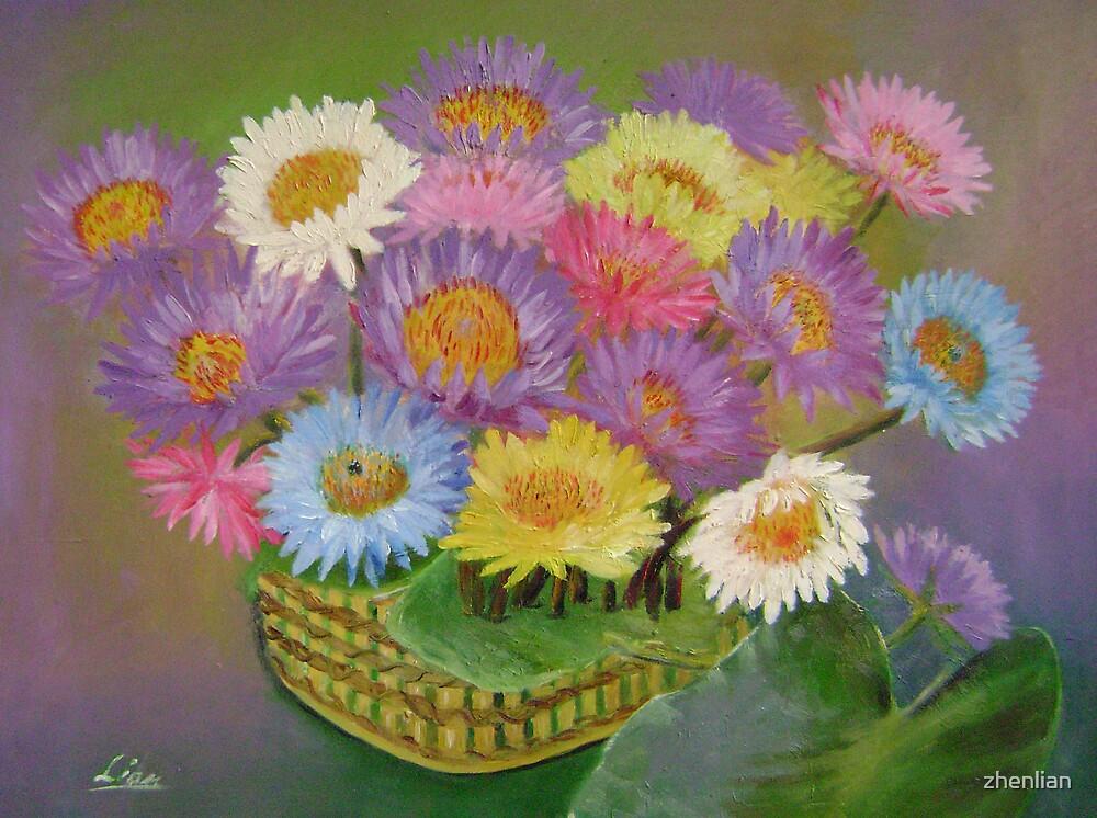 water lilies by zhenlian