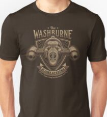Die Washburne Flugakademie Slim Fit T-Shirt